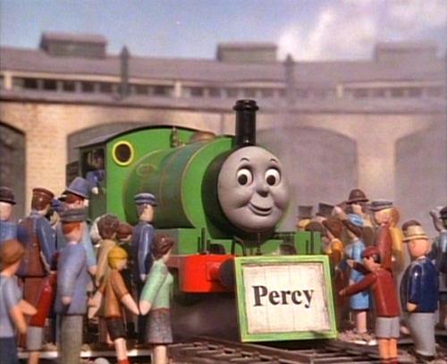 Percywithnameboard Png Thomas Y Sus Amigos Thomas El Tren Tren