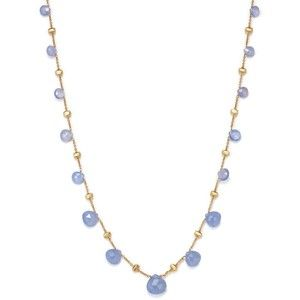 Marco Bicego 18K Yellow Gold Paradise Chalcedony Necklace, 16.5