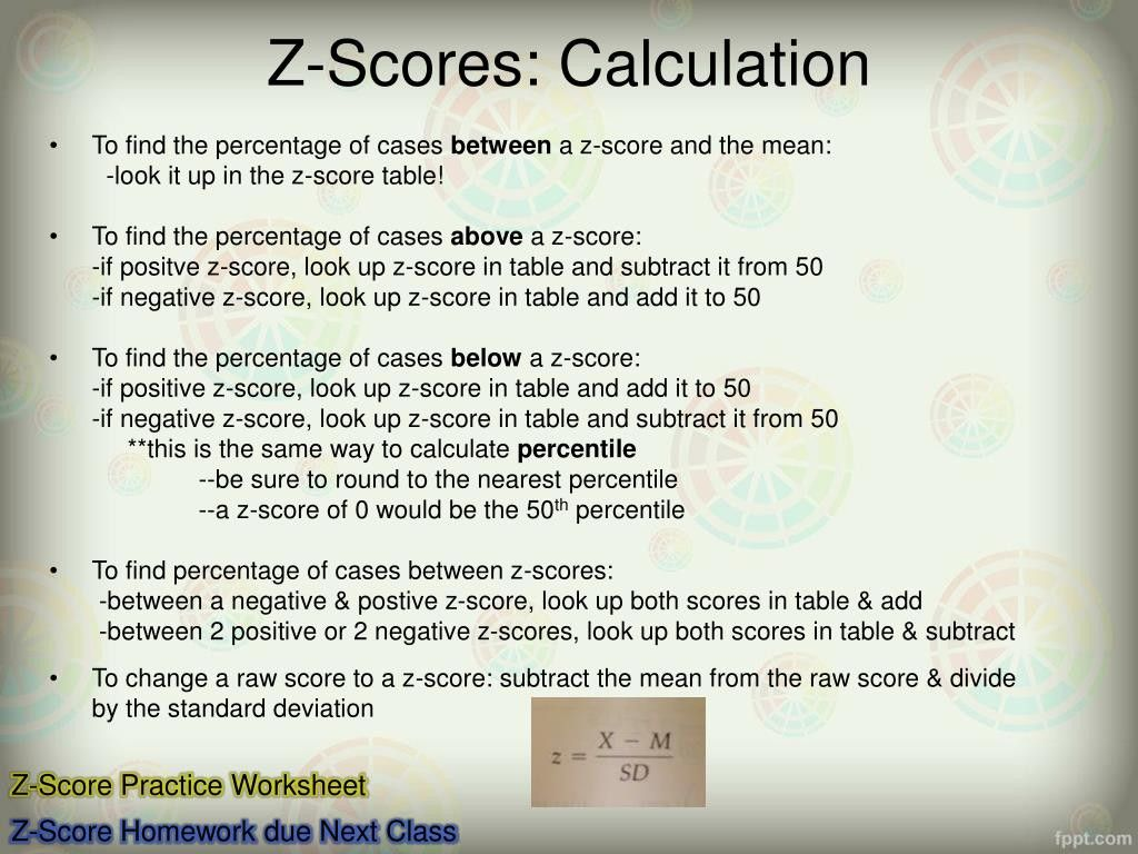 24+ How to calculate percentile info  Get Your Dream Job Throughout Z Score Practice Worksheet