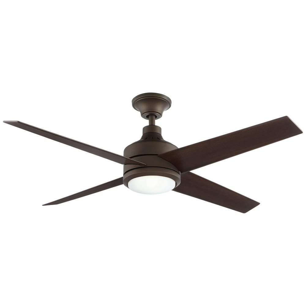Home Decorators Collection Mercer 52 In Integrated Led Indoor Oil