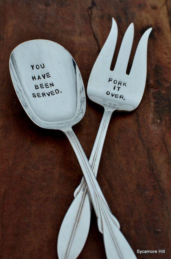 Serving set. Fork it over.  :o)