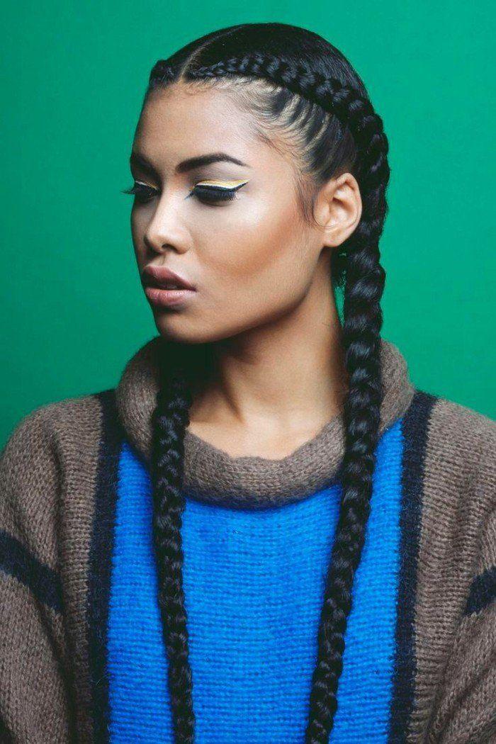 1001+ coiffures modernes avec une tresse africaine