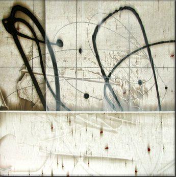 """Calcicole #2  Acrylic on Panel  15 x 15"""""""