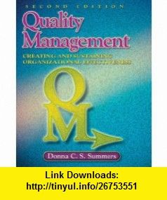 Quality management 2nd edition 9780135005101 donna c summers quality management 2nd edition 9780135005101 donna c summers isbn fandeluxe Image collections