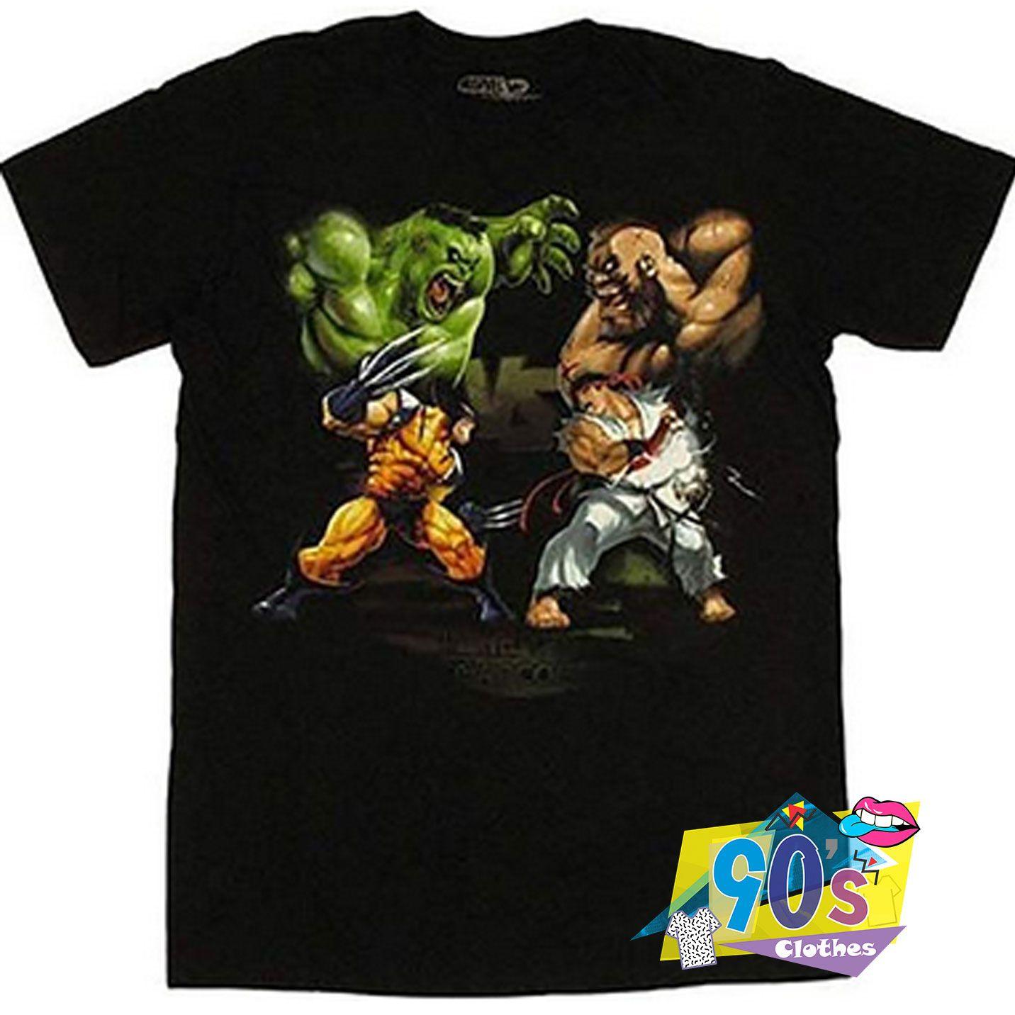 Marvel Vs Capcom And David Vs Goliath T shirt #decadedayoutfits