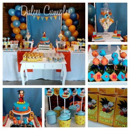 Dragon ball z party fiestas tematicas pinterest - Accesorios de cumpleanos infantiles ...