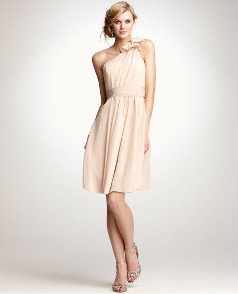Interestingly Similar Bridesmaid Dress From Ann Taylor Light