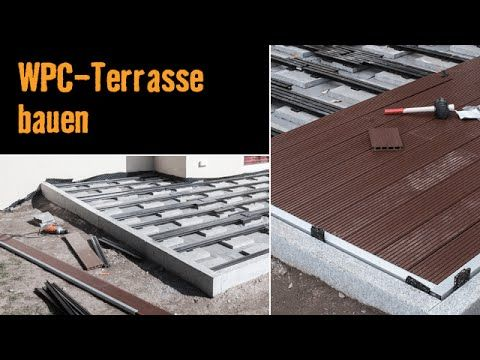 bau dir eine terrasse aus wpc dielen mit dem video tutorial der hornbach meisterschmiede. Black Bedroom Furniture Sets. Home Design Ideas