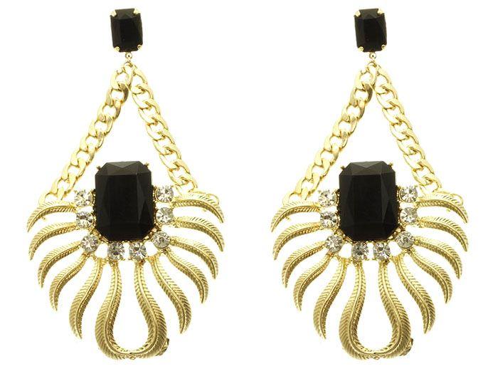 Stone Flourish Earring · Naroshe' · Online Store Powered by Storenvy