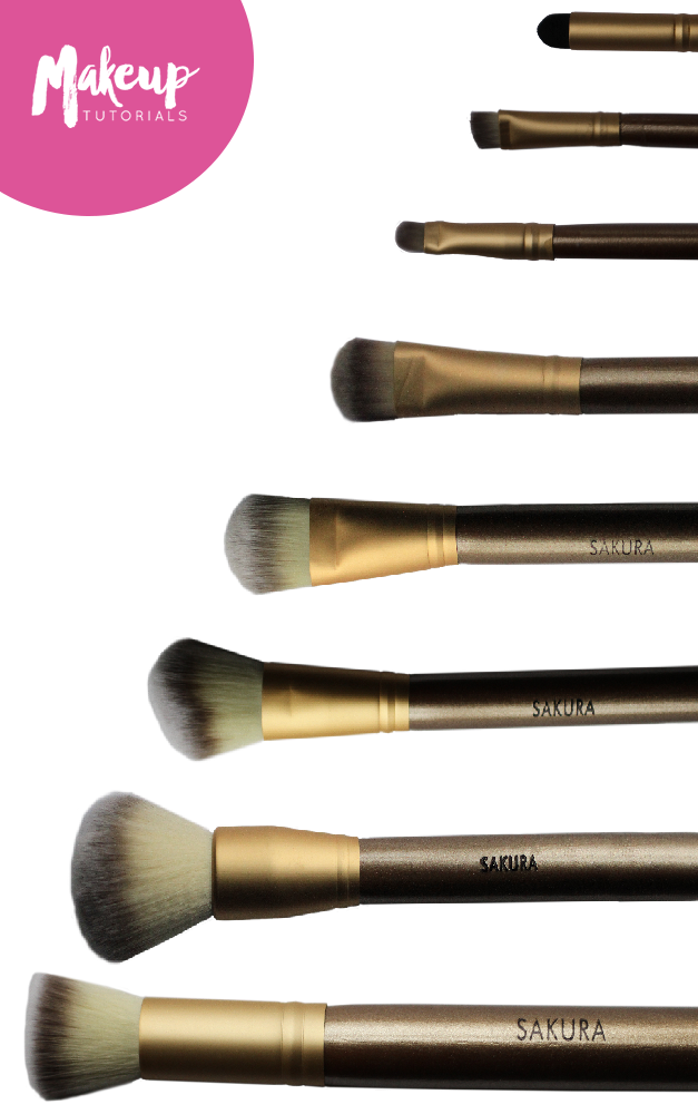 Only The Best Makeup Brushes Give You That Flawless Look