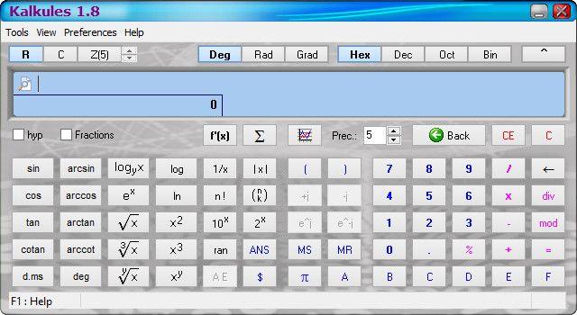 Free Multi Functional Universal Scientific Calculator, For