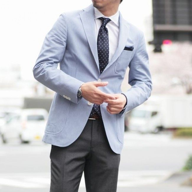 light blue jacket menswear blog | Wedding stuff for Mani ...