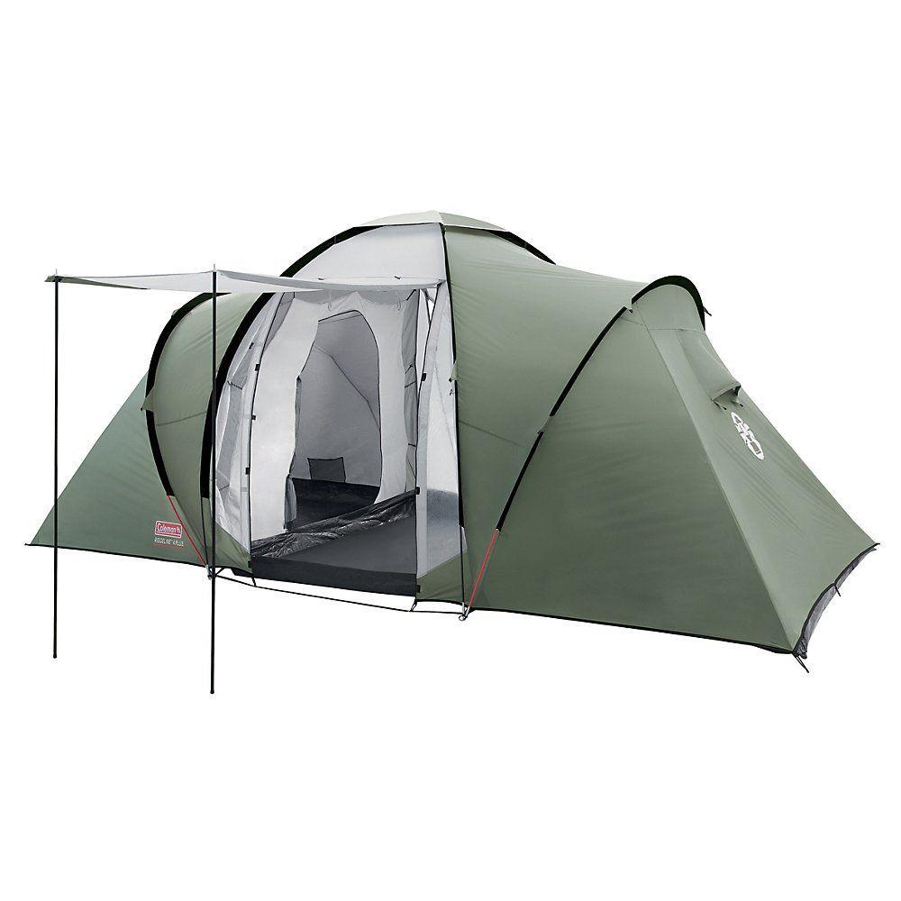 Coleman Tente Ridgeline 4 Plus 4 Man Vert Gris Camping En Tente Camping Tente Tente Dome