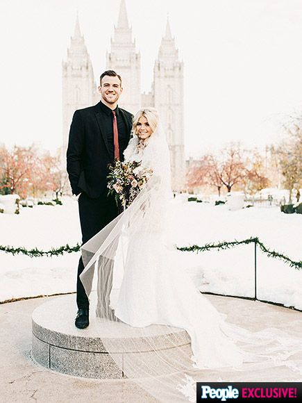 Dancing With The Stars Witney Carson Weds High School Sweetheart Mcallister Get Exclusive Details