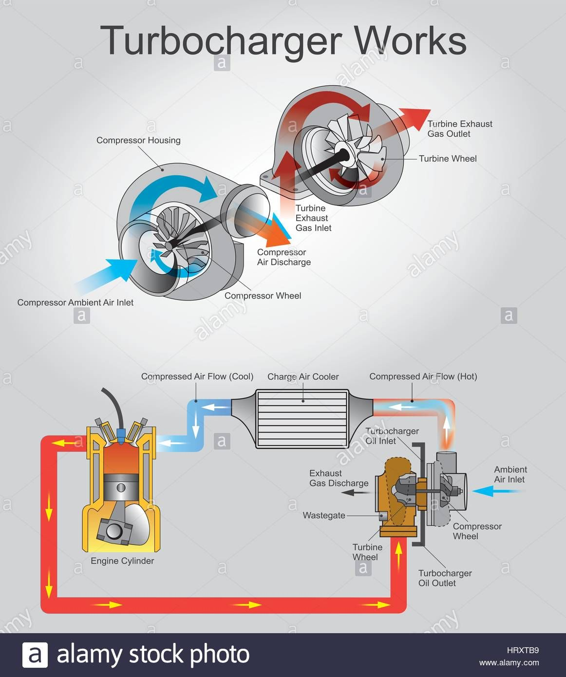Download This Stock Vector A Turbocharger Or Turbo Is Turbine Jetenginediagram Image Jet Engine Diagram Driven Forced Induction Device That Increases An Internal Combustion Engines Efficiency