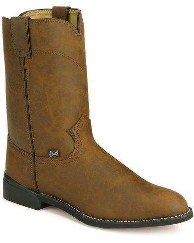 e432e168165 Justin Basics Roper Cowboy Boots - Round Toe in 2019   CB-OC ...