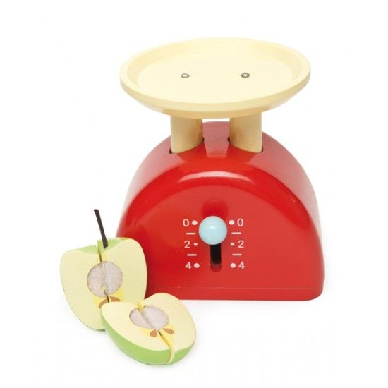 Wooden Toys Le Toy Van Honeybake Weighing Scales 3 Yrs Toy Kitchen Accessories Play Tea Set Play Shop