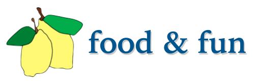 food & fun - new header/logo