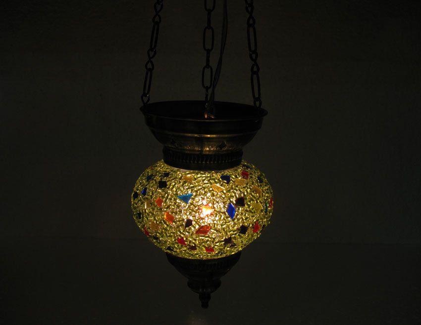 Moderne Lampen 67 : Green mosaic hanging lamp moroccan lantern glass light türkische