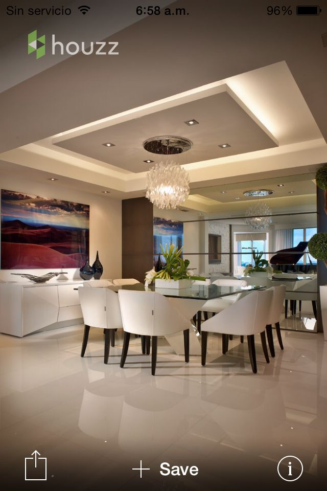 Very Dazzling Dinning Room To Open Living Room Floor Plan. Love The Color  Scheme And Ceiling Design Part 80