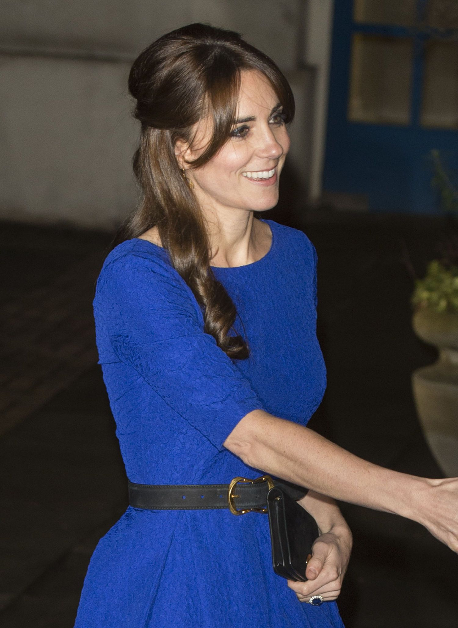 Kate Middleton's Saloni Blue Dress Isn't Sold Out Yet! Here's Where You Can Still Buy It #Intense #Mega #Chandeliers