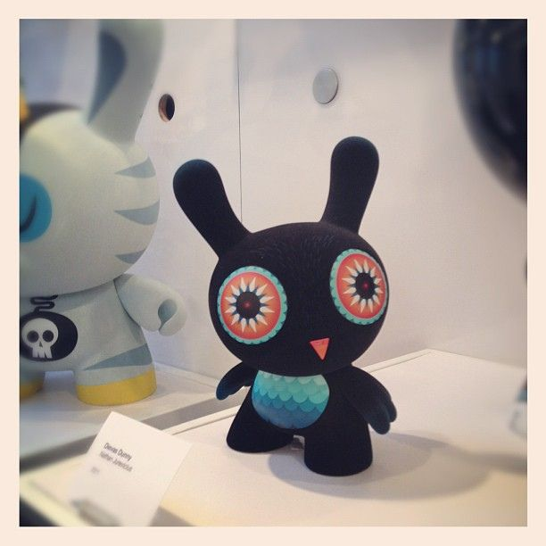 Dievas Dunny by Nathan Jurevicius at KRNY by PinkyTurtles, via Flickr