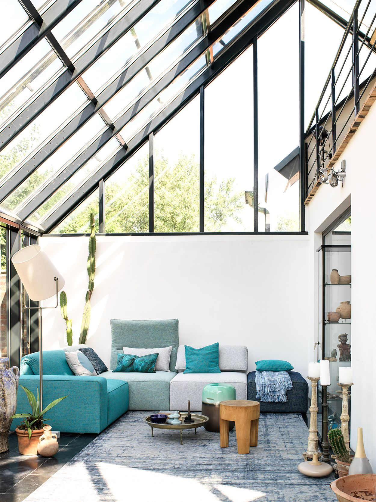Mont l flex sofa hoekbank interior design for Kantoor interieur