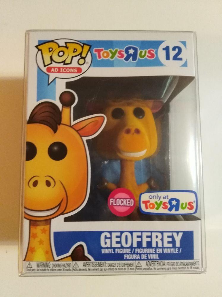 Funko Pop! Ad Icons Flocked Geoffrey the Giraffe 12 Toys R