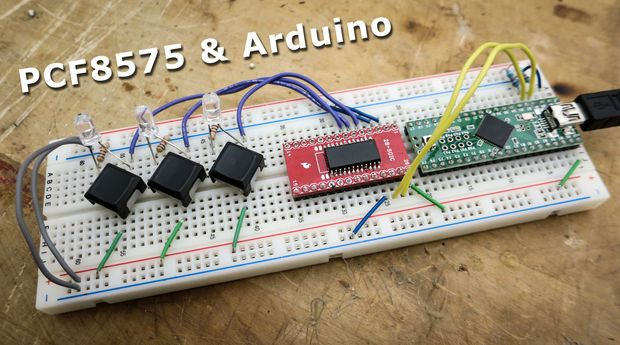 Using the PCF8575 I2c I/o Expander to Read Inputs With Arduino