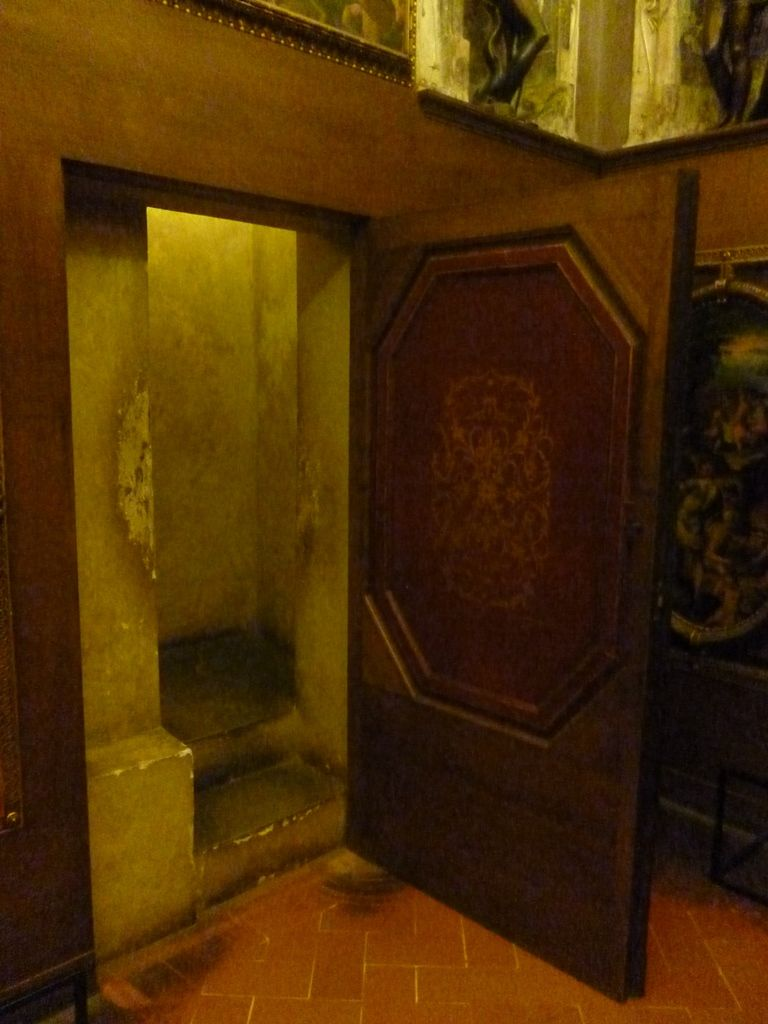 The Entrance To The Secret Passages In Palazzo Vecchio