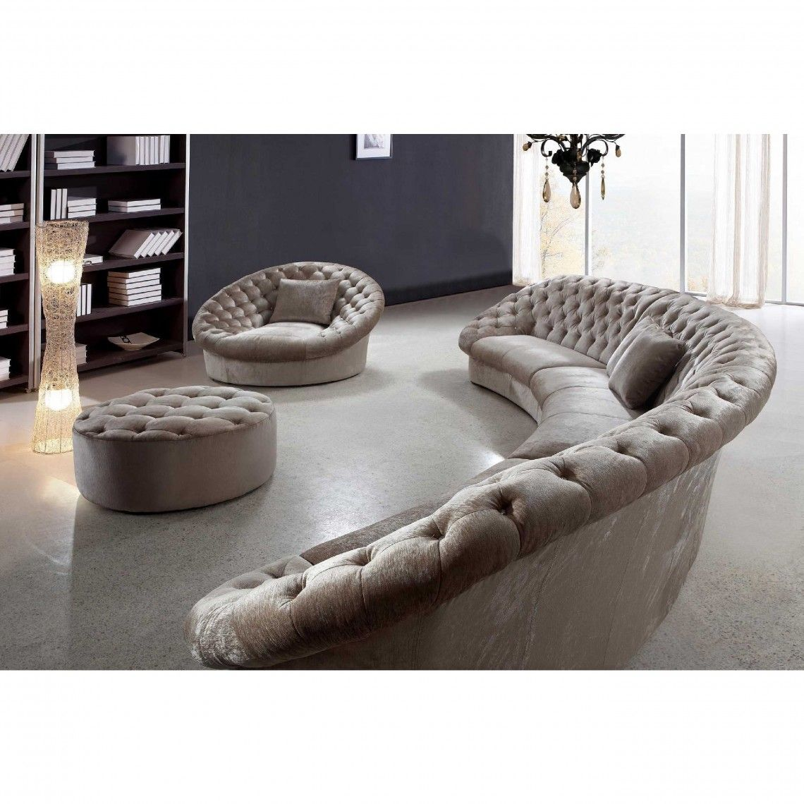 Cozy Curved Sectional Sofa Small Round Sectional Leather Sofas Circular Sofa Bed Curved Couches Store Curved Fabric Sectional Sofas Curved Sofa Sectional Sofa