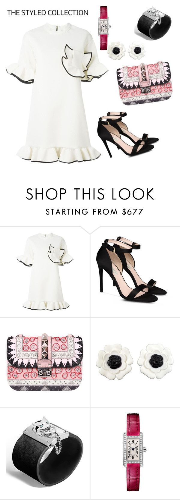"""Untitled #86"" by brabo-brbr ❤ liked on Polyvore featuring Marni, STELLA McCARTNEY, Valentino, Chanel, John Hardy and Cartier"