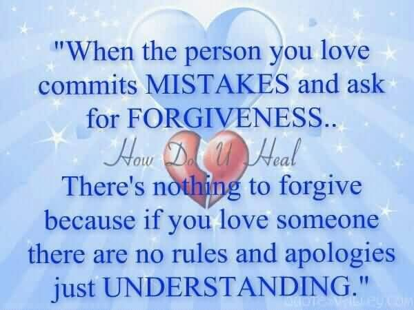 Forgiveness Relationship Quotes When The Person You Love Commits
