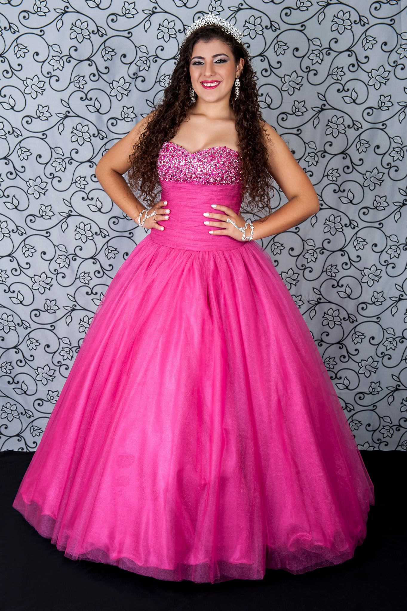 Vestido Debut Rosa Pink | Debutante | Pinterest