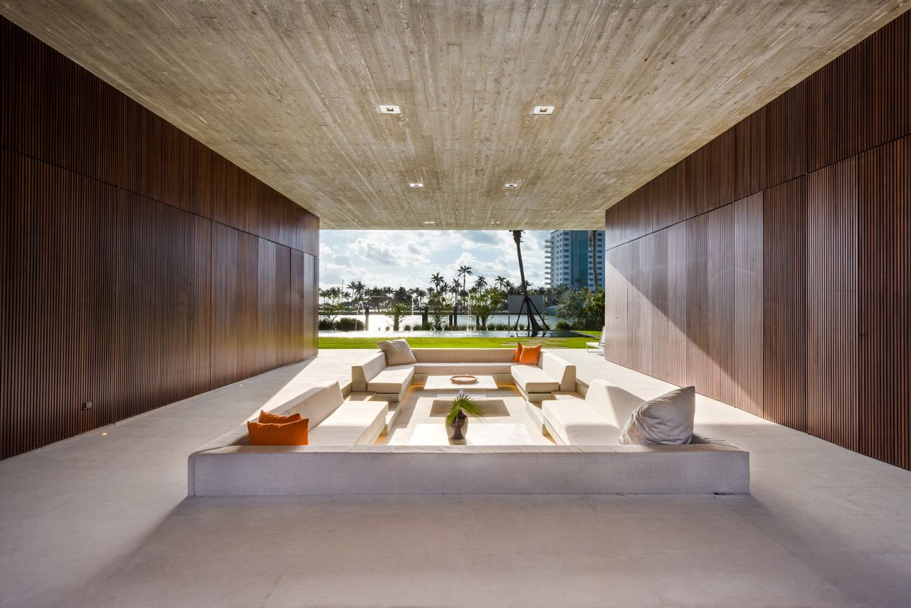 A Miami Beach Home With A Swimmable Lagoon   Design Milk