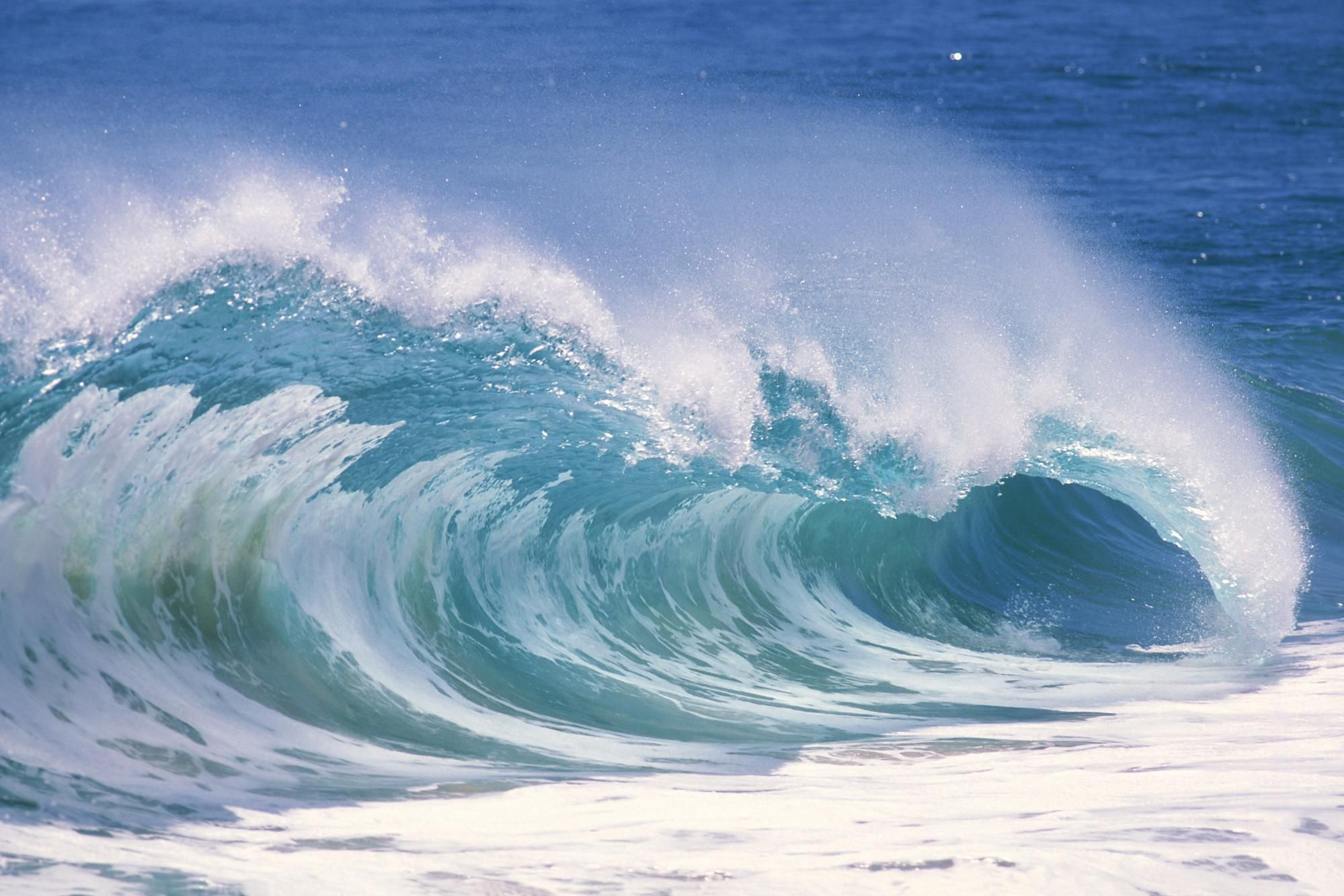 ocean waves Ocean Waves Free Wallpaper In Desktop