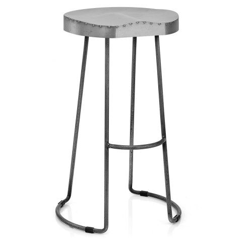 A Marvellous Metallic Piece The Freedom Zinc Top Stool Will Make