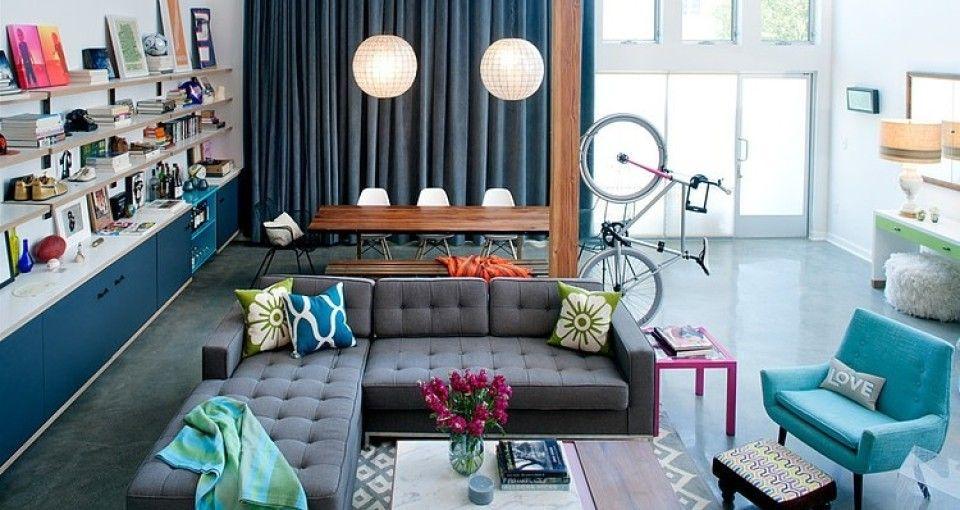 Retro interior in California by Daleet Spector Design 1