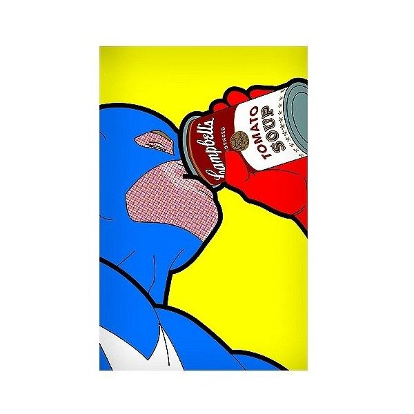 Captain Campbell Unframed Wall Poster Print   , Multi-Colored (118.245 COP) ❤ liked on Polyvore featuring home, home decor, wall art, interior wall decor, unframed wall art, home wall decor and wall paper home decor