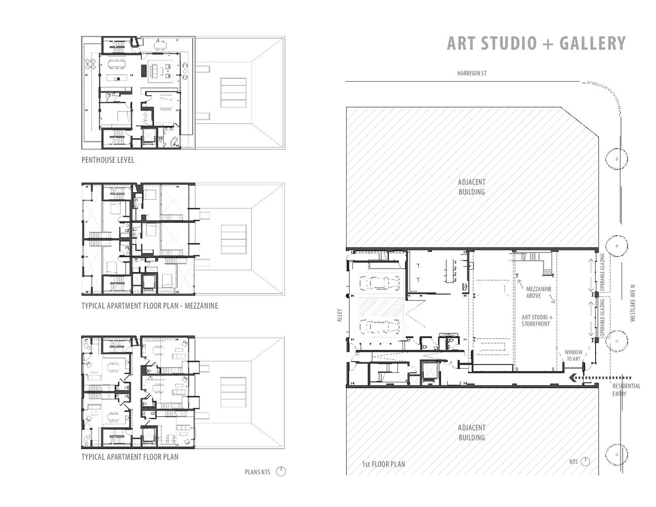 Gallery Of 325 Westlake Graham Baba Architects 27 Ground Floor Plan Architect West Lake