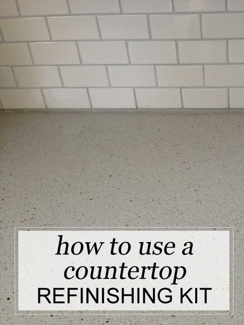 How To Use A Countertop Refinishing Kit