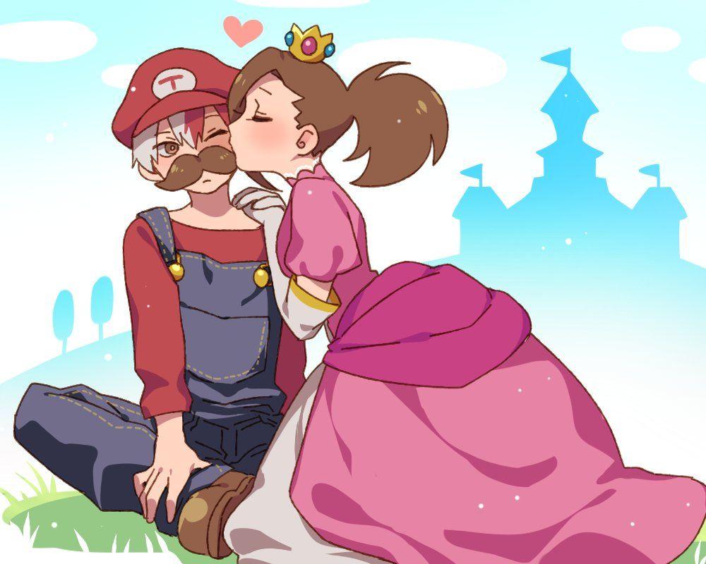 Boku no Hero Academia x Super Mario Bros    Cross-Over
