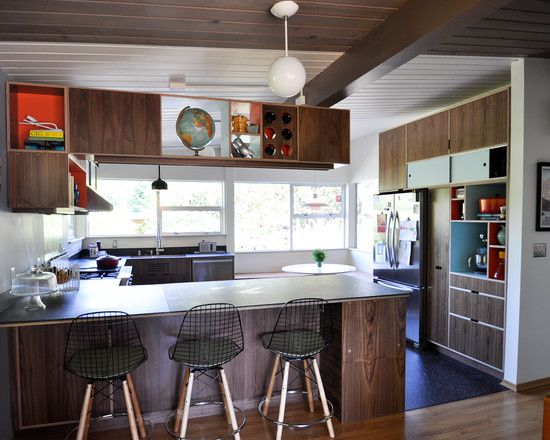 Mid Century Kitchen Design Pictures Remodel Decor And Ideas