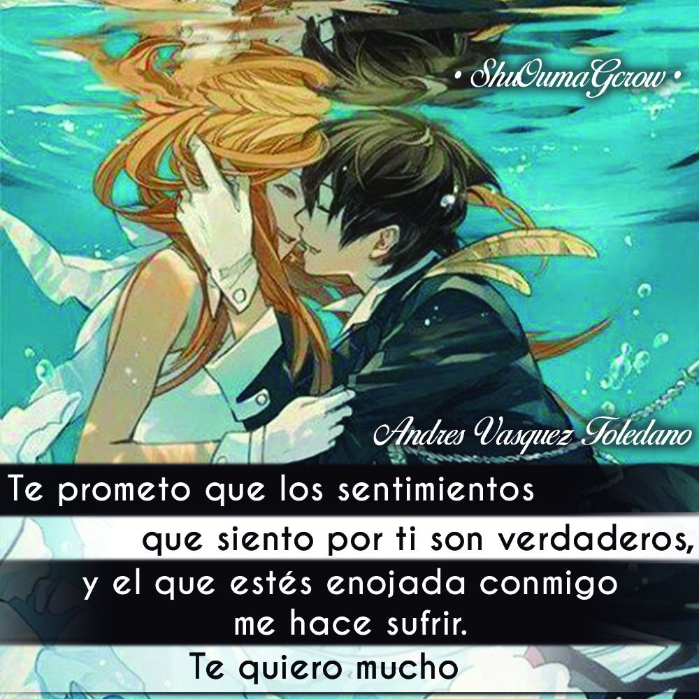 Anime Frases Anime Frases Sentimientos Shuoumagcrow Chicas