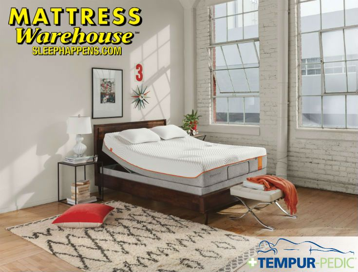 Mattress Warehouse Makes Tempur Pedic More Affordable With 0 Financing And Payments As Low As 20 Mon Mattress Warehouse Tempurpedic Mattress Adjustable Beds