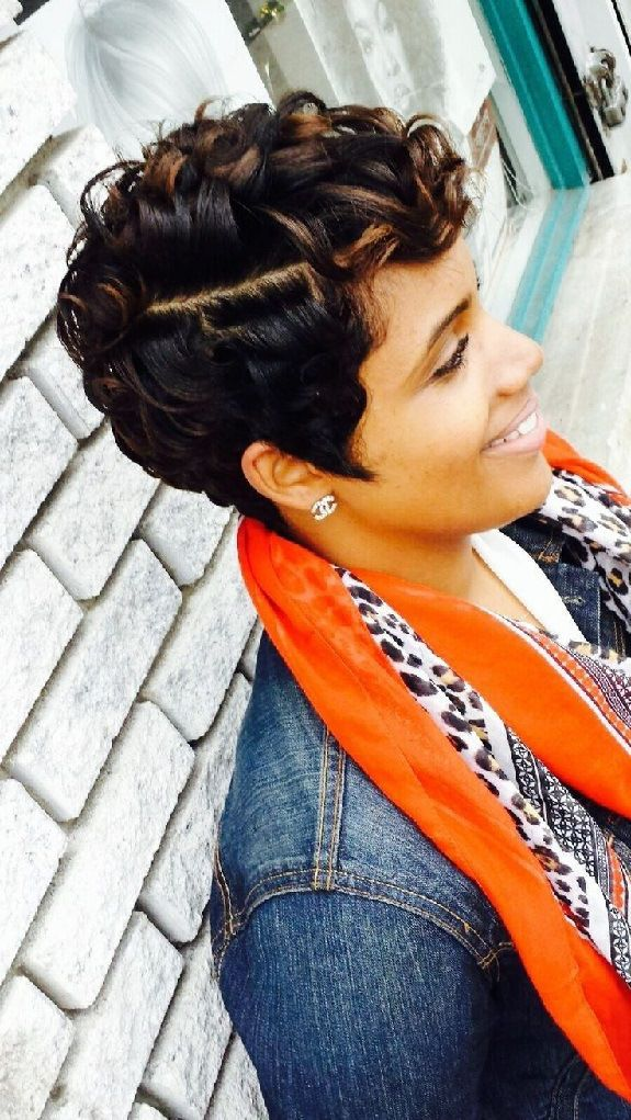101 Short Hairstyles For Black Women - Natural Hairstyles -4238