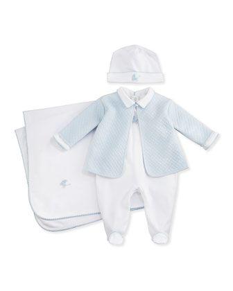 prématuré//Tiny Bébés 3 Pièce Matelassé Set ~ Bunny Design