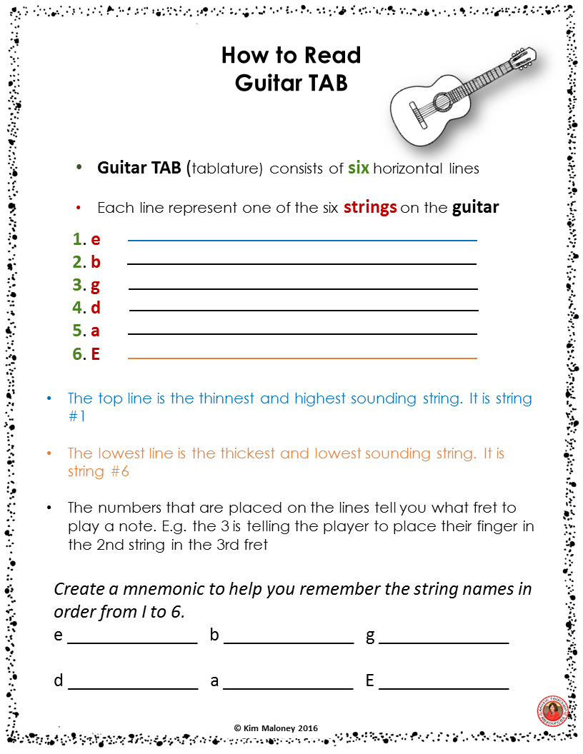 Guitar in the classroom melody click the ojays and of guitar lessons teaching guitar to a general music class click through to preview hexwebz Choice Image