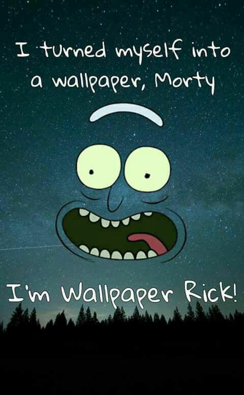 Rick Sanchez wallpaper (With images) Rick and morty