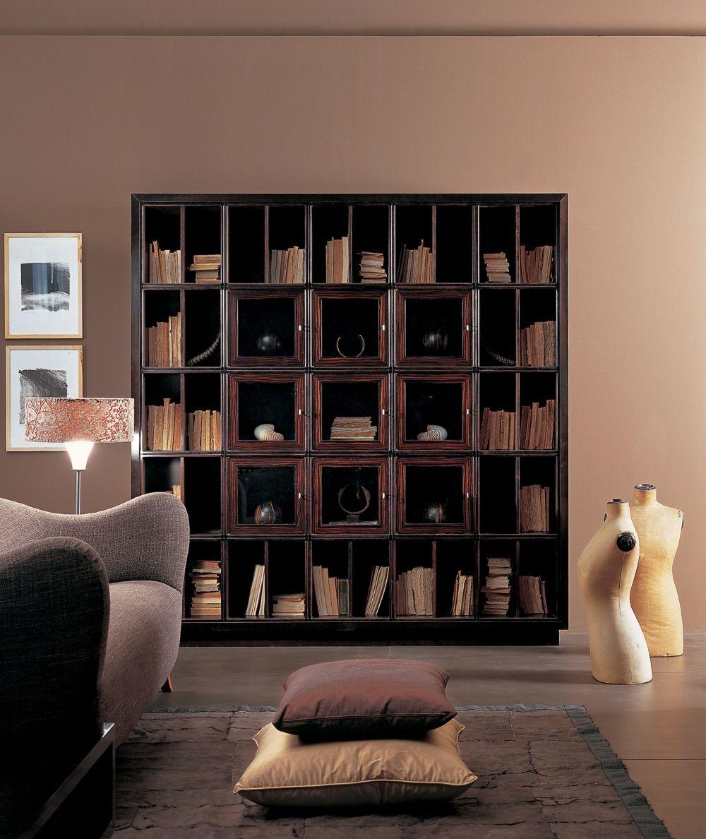 Prodotti Annibale Colombo Книжный шкаф, Интерьер